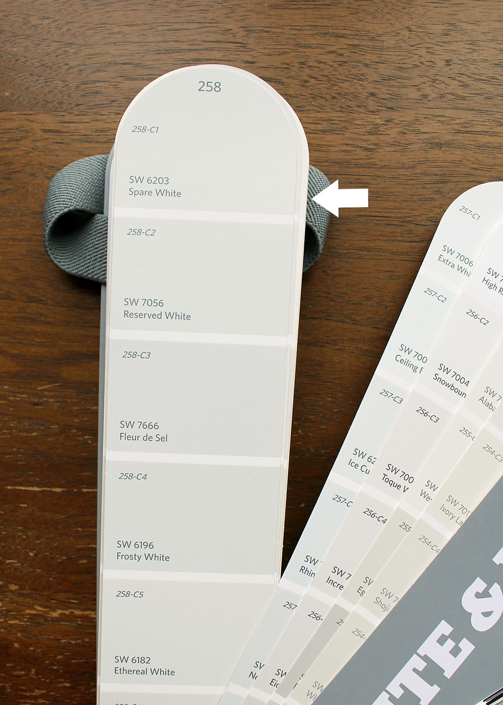 Sherwin-Williams Spare White SW 6203   10 best Sherwin-Williams White Paint Colors