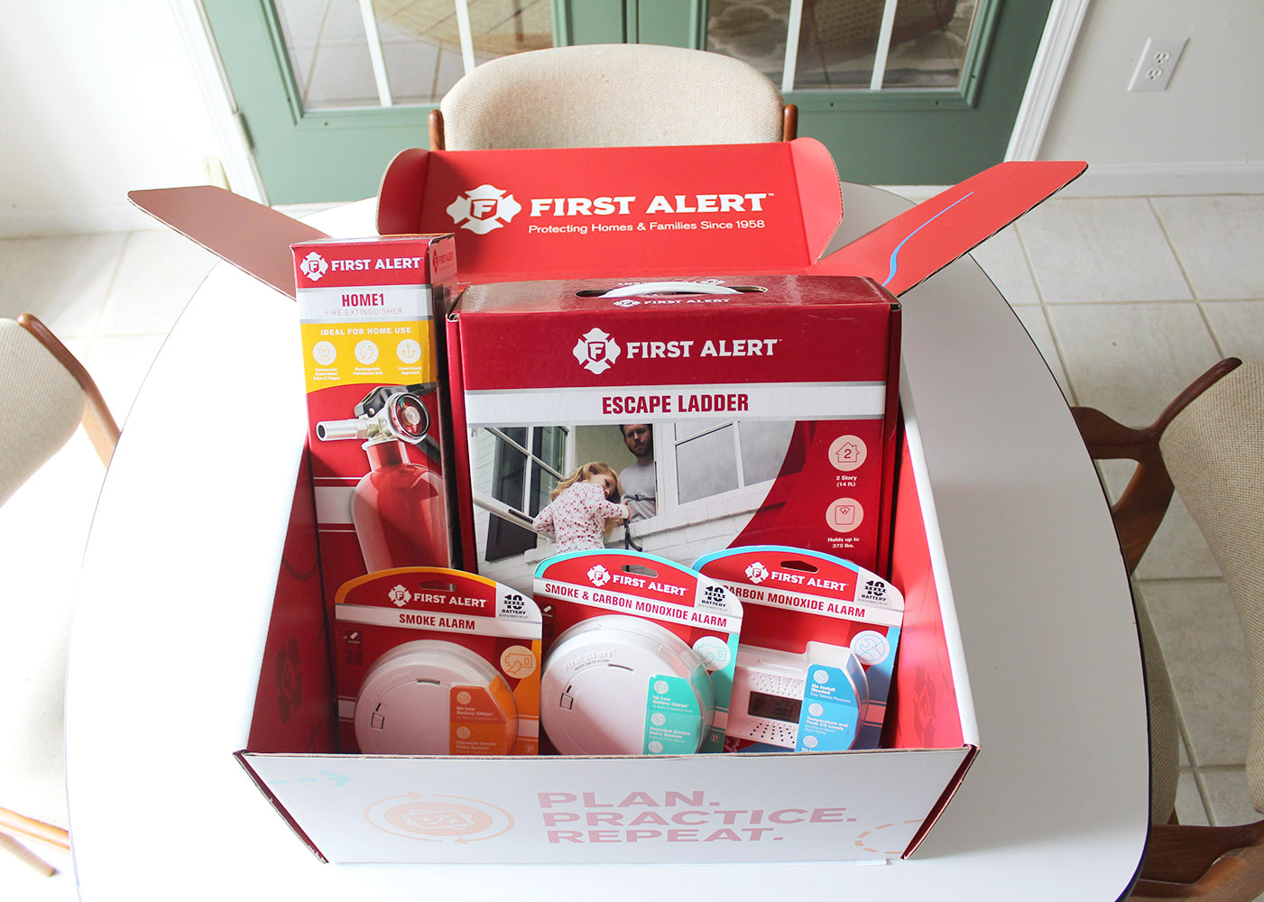 How to Make an Emergency Escape Plan with First Alert  #ad