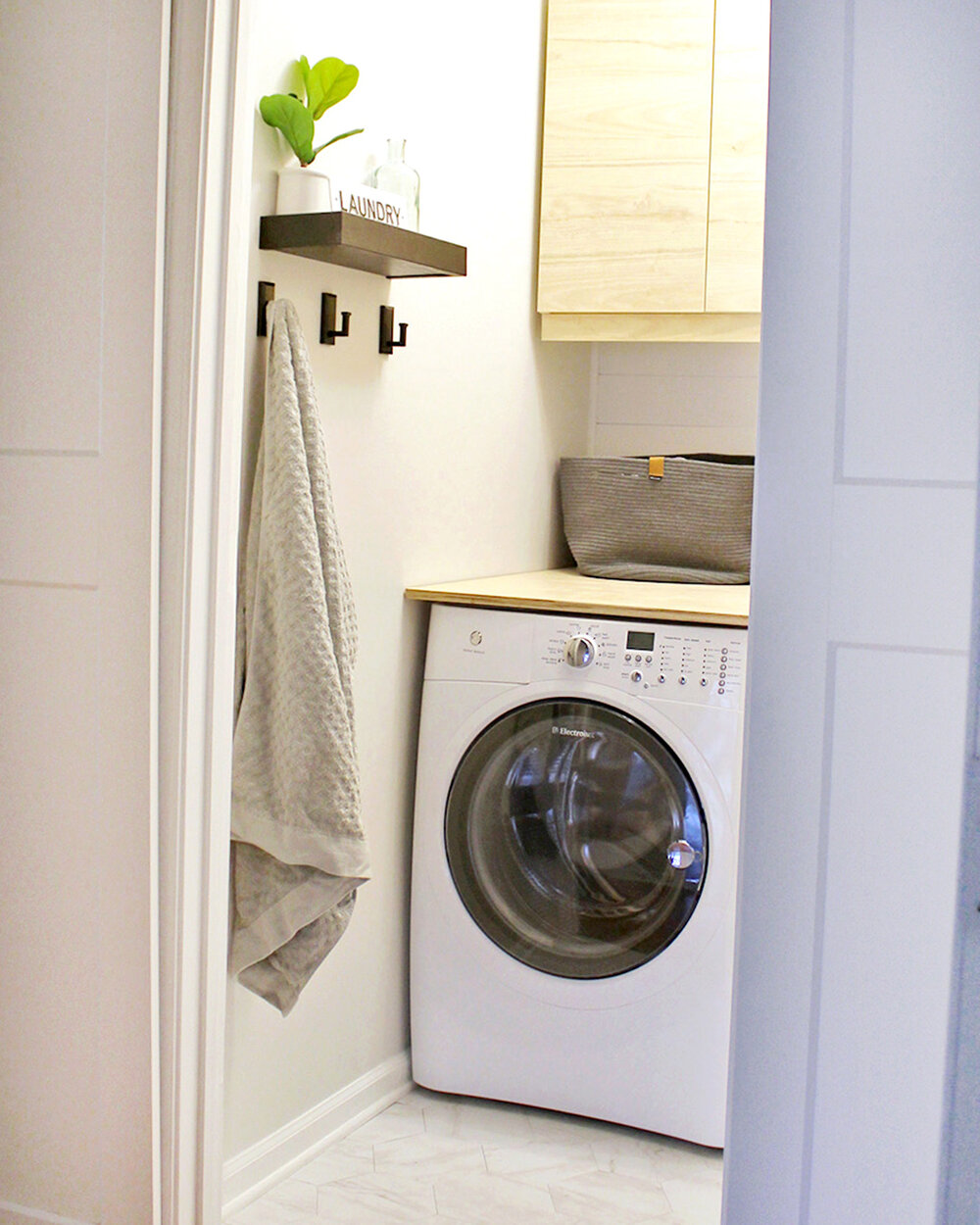 20 Small Laundry Room Makeover Ideas — Tag & Tibby Design