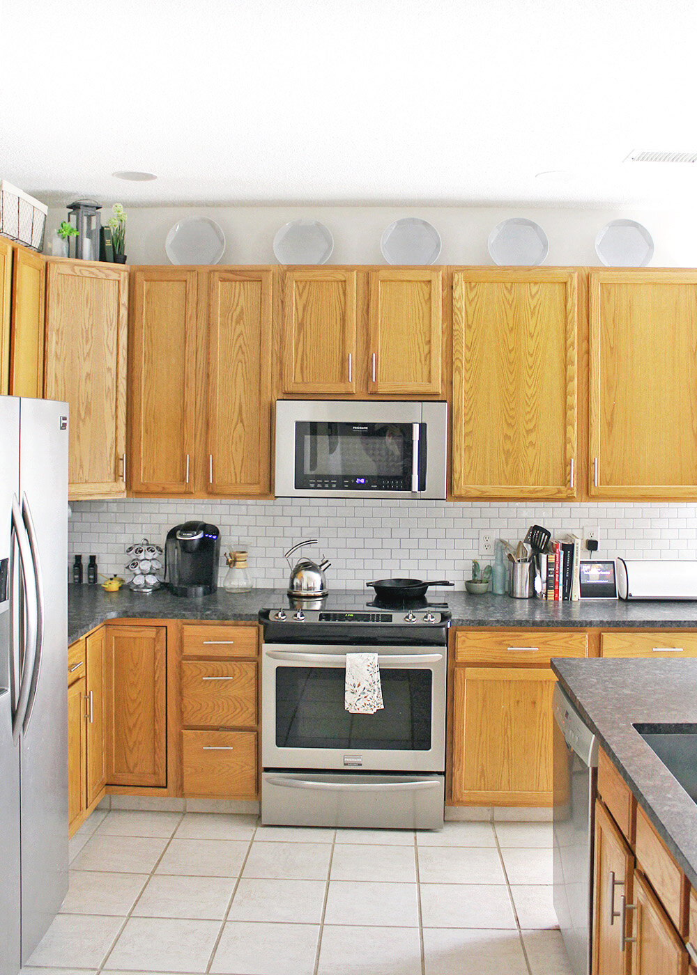 Should You Decorate Above Kitchen Cabinets  from images.squarespace-cdn.com