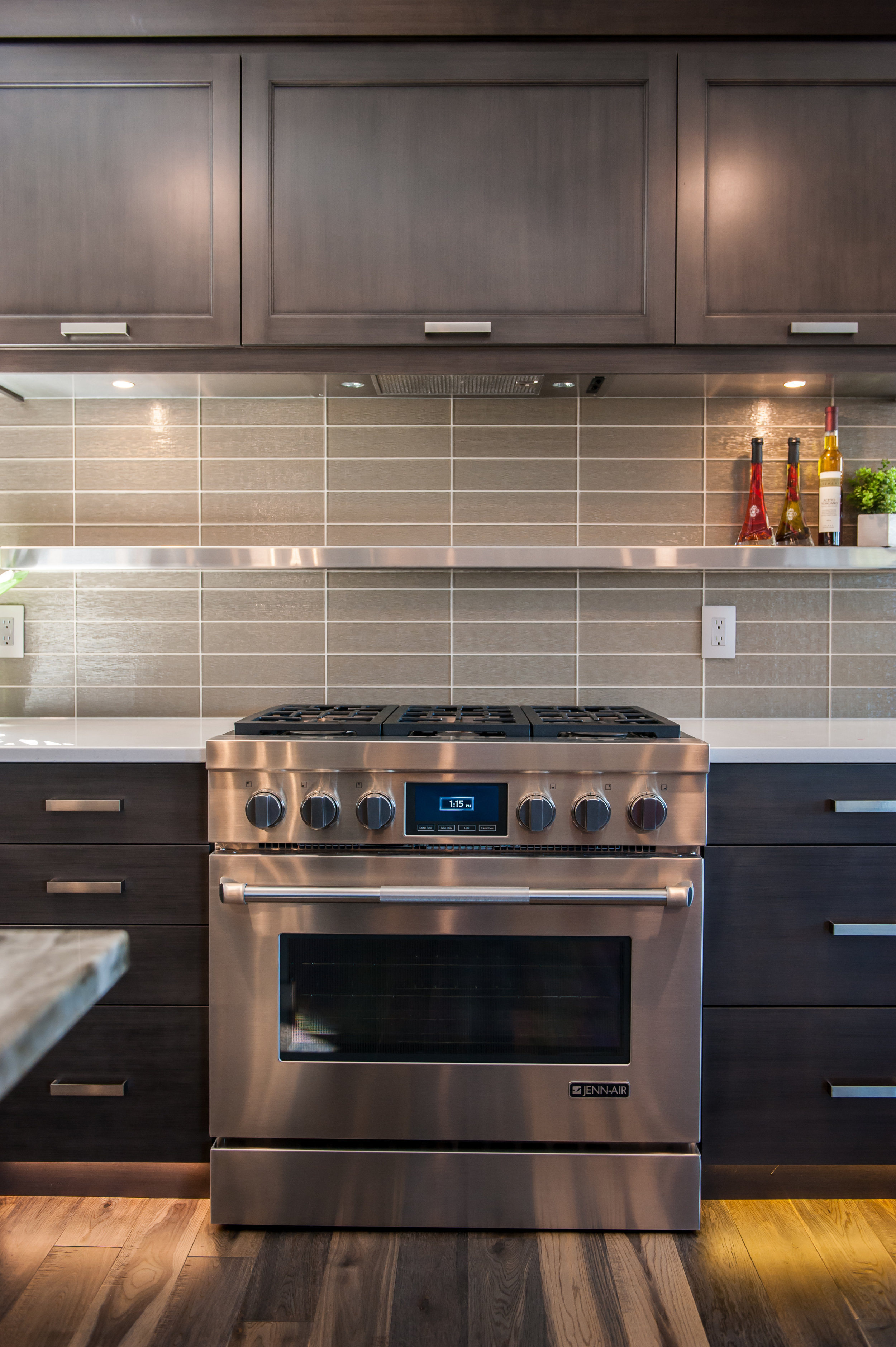 oven kitchen stainless