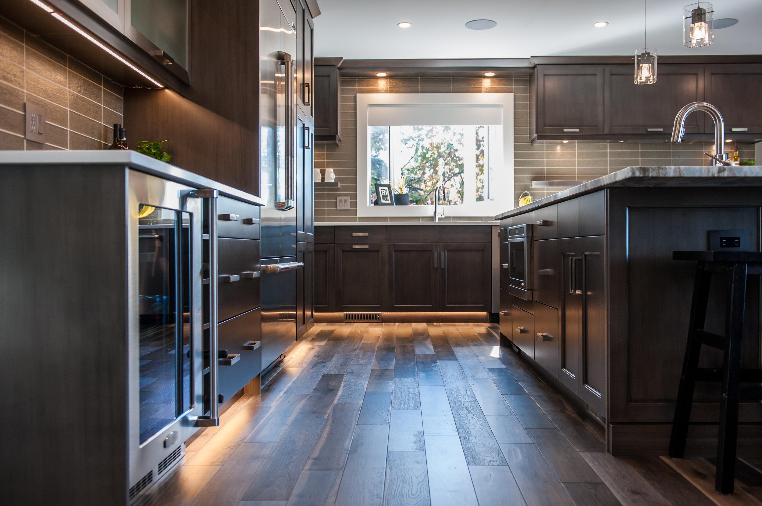 kitchen view left
