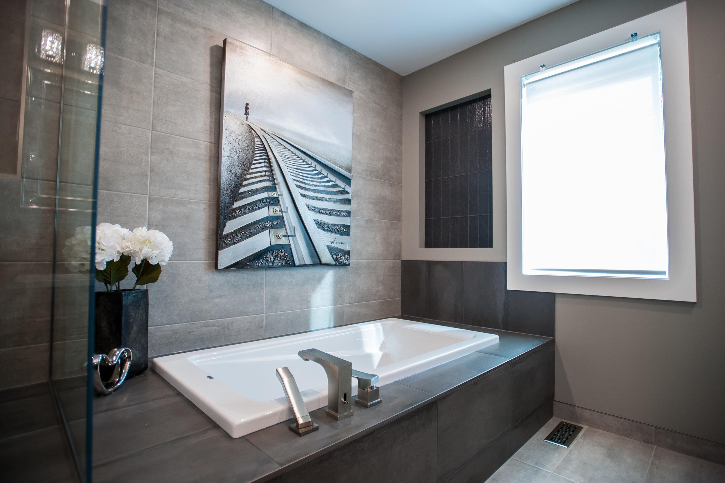 master bath drop in tub