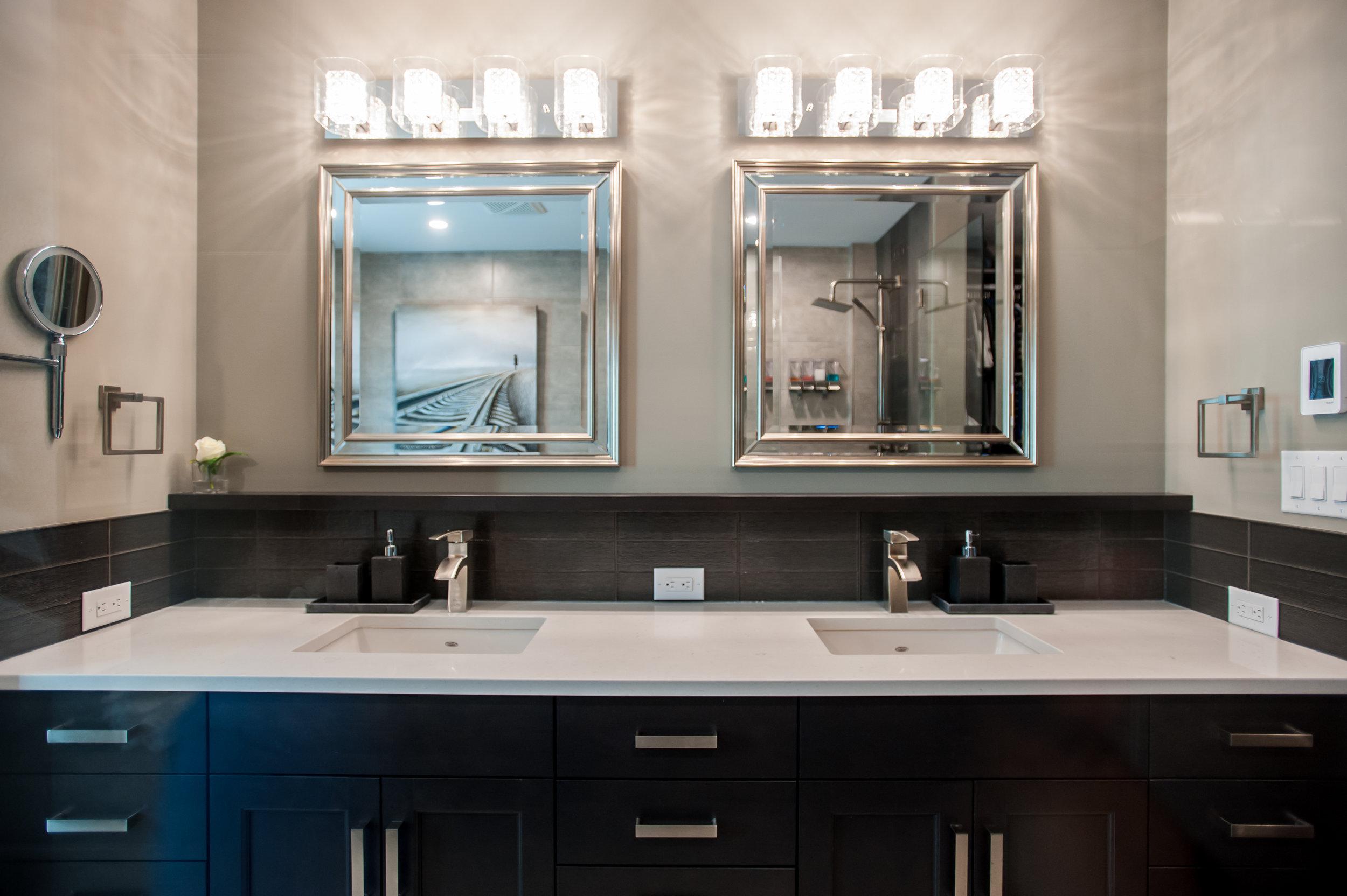 double vanity master bathroom
