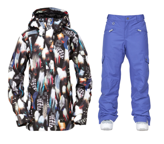 ROXY SNOW JACKET AND PANTS