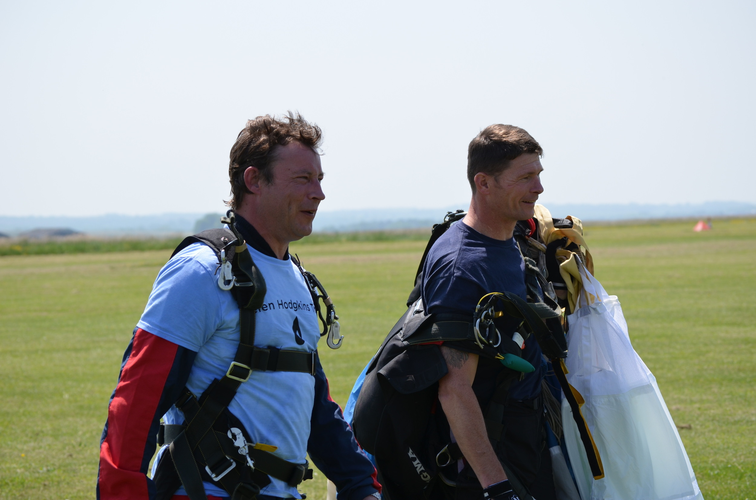 From pure fear to excitement - in 13,000ft