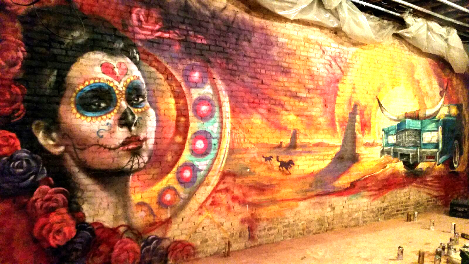 Mural: Ben Angotti & Sean Bono