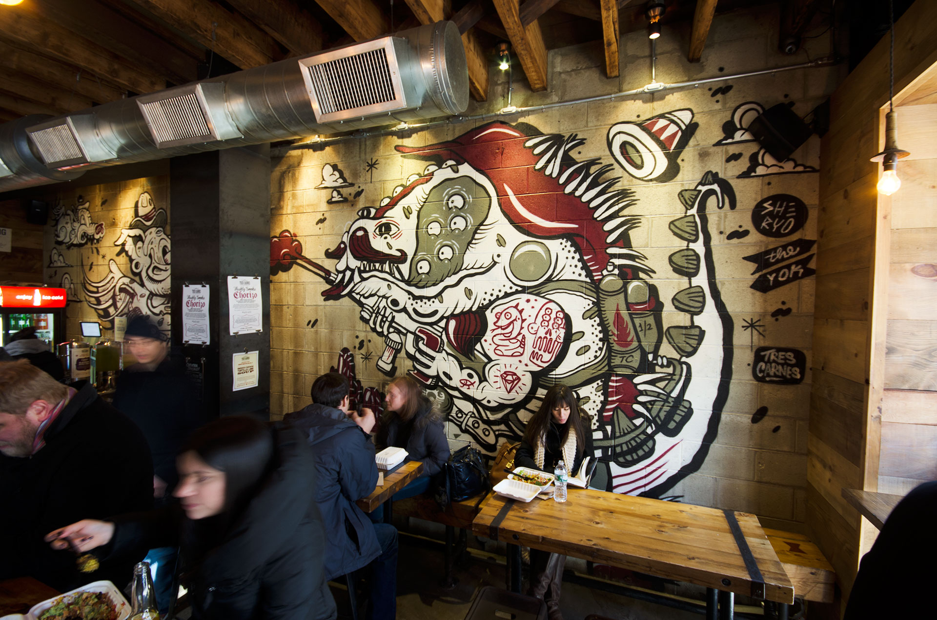 Mural: Sheryo & The Yok