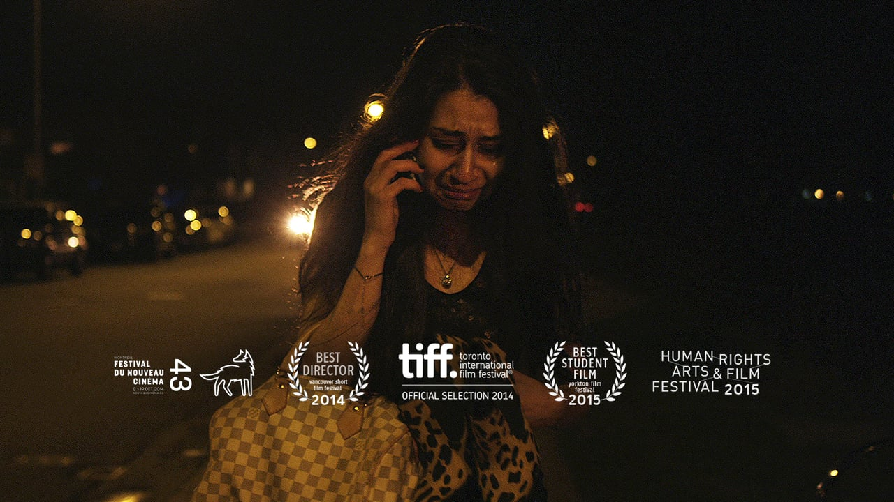Still of his film, Sahar, and a few of its many accolades:   Watch the film
