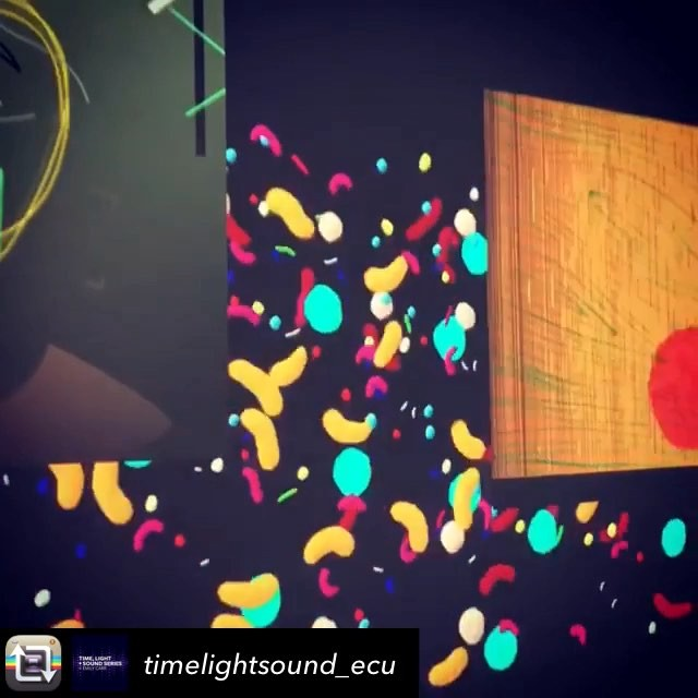 Little peek from a show I was in at @emilycarru with several talented animation & sound artists! ——————————- Repost from @timelightsound_ecu The LOOP Show closing reception is tonight! Th Nov 1, 4-7:30 @emilycarru  Hope to see you there!! The show closes Fri Nov 2, 4p.  @emilycarranimation @simonlysander @alreadyfuture @loreleip - - #timelightsound #emilycarr #mediaarts #vancouver #vancouverbc #animation