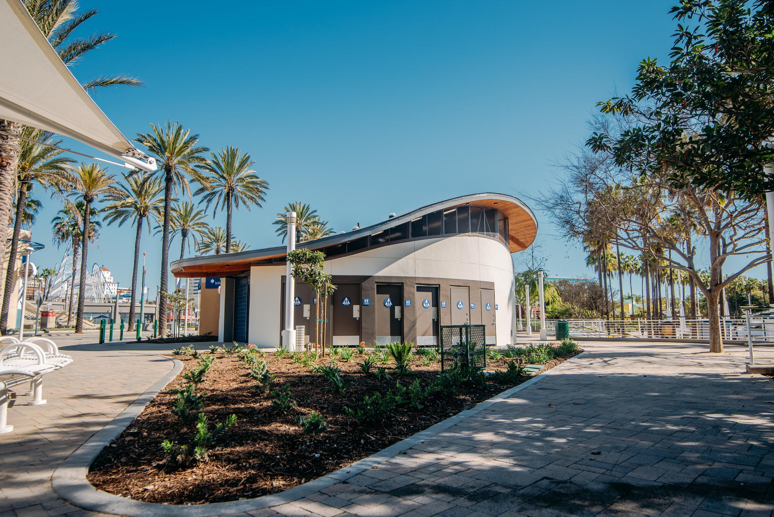TIDELANDS RESTROOMS - CITY OF LONG BEACH