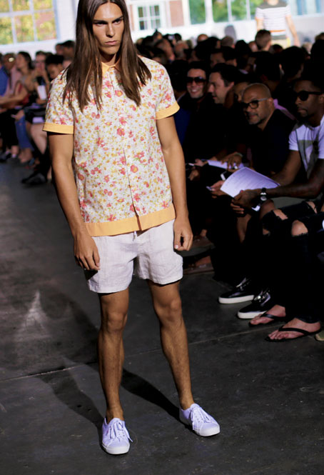 Parke and Ronen  SS15 runway show