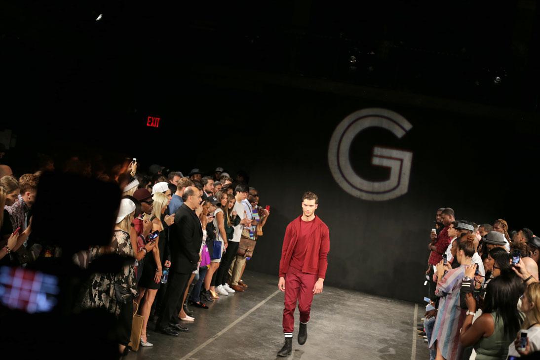 Grungy Gentleman  SS15 runway show