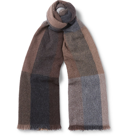 Checked Lambswool And Cashmere-Blend Scarf.jpg