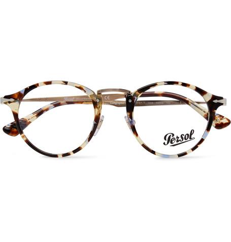 Round-Frame Tortoiseshell Acetate And Gold-Tone Optical Glasses.jpg