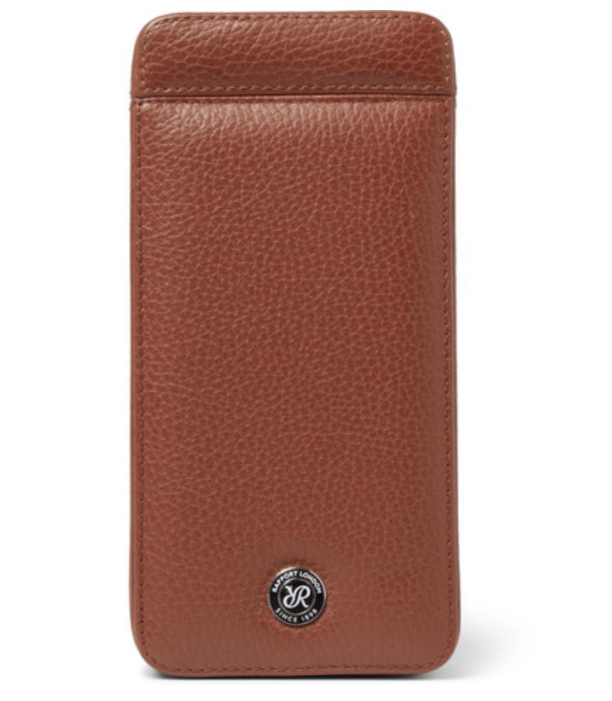Rapport London - Full-Grain Leather Watch Case - Brown