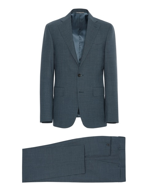 This is a perfect suit if you want to get on your plaid game but still want to keep it subtle. Also great color!