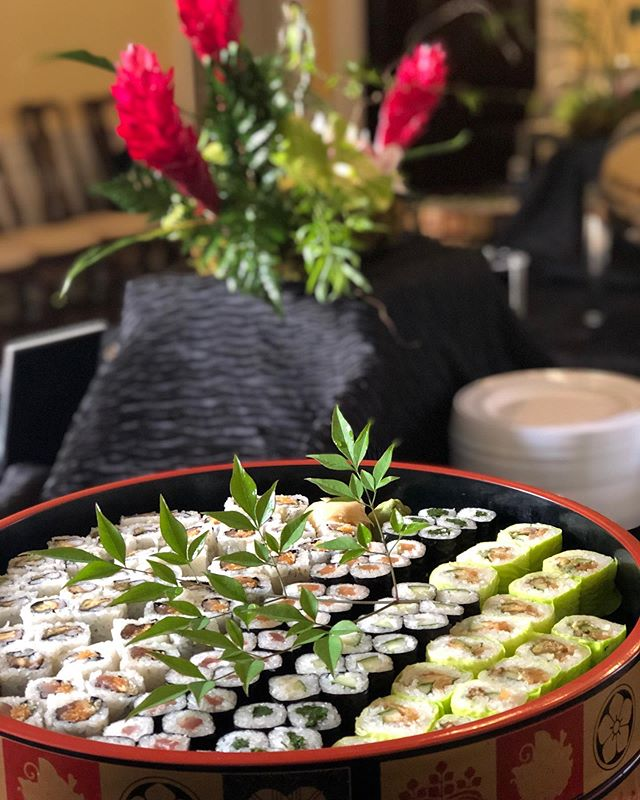 Great event at the Japanese Embassy with our partners @takogrill 🍸 🍸 🍸 🍸 🍸 🍸 #sushi #Yummy #Dccatering #Instafood #Delicious #Chefsofinstagram #Chef #Events #eventcoordination  #foodporn #beautifulcuisines #tastemade #foodphotography #feedfeed #eatpretty #f52grams #dailycortado #onmytable #huffposttaste #eeeeeats #toyourtaste