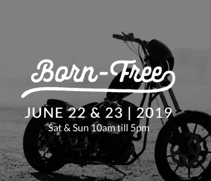 Join us for the 11th Annual Born Free event in Southern California. We will be hosting a booth at the event full of brand new product for the weekend of June 22-23 2019