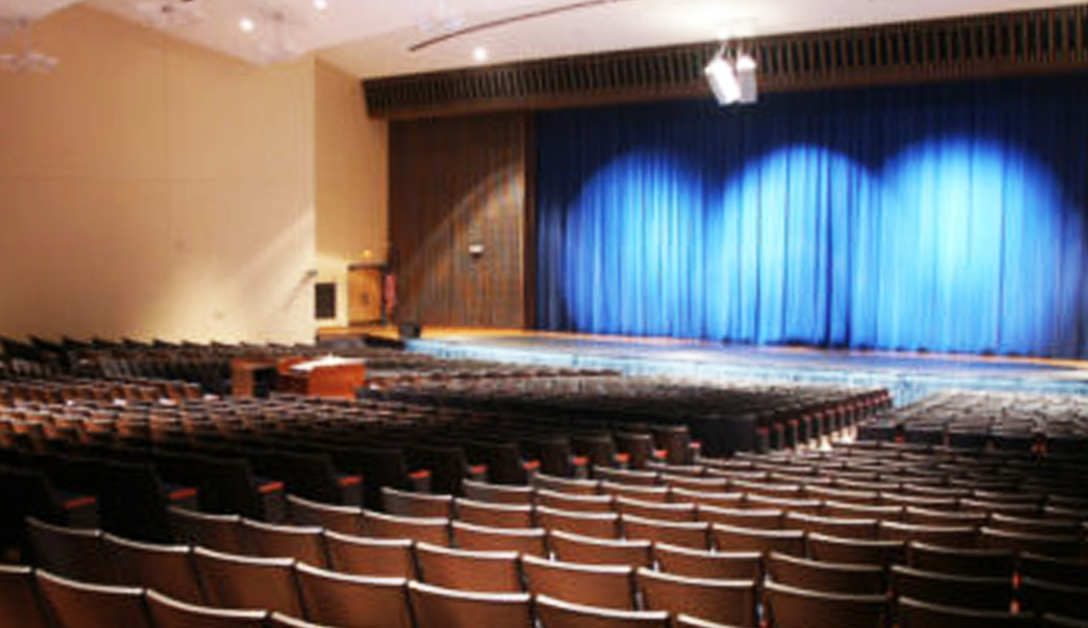 Monbeck Auditorium at Highland High School