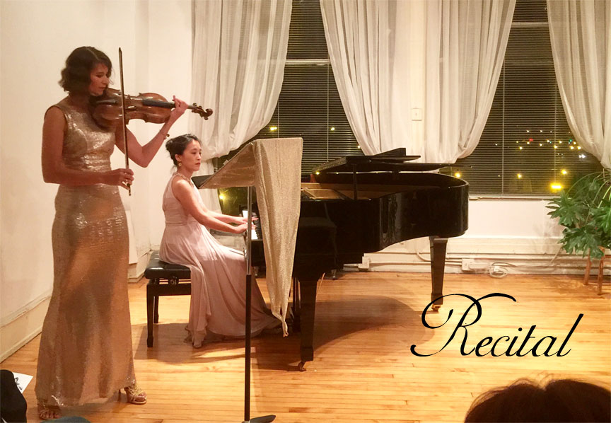 Nora William, viola and Saori Chiba, piano