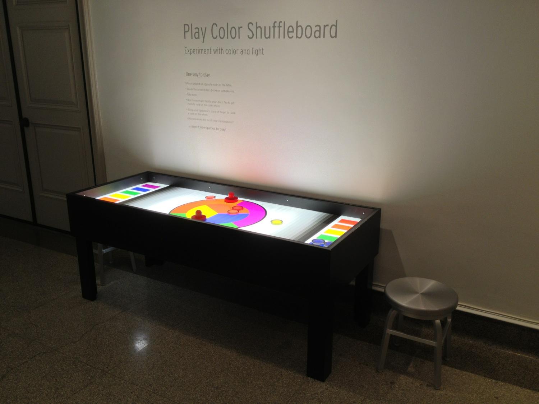 Color Shuffleboard