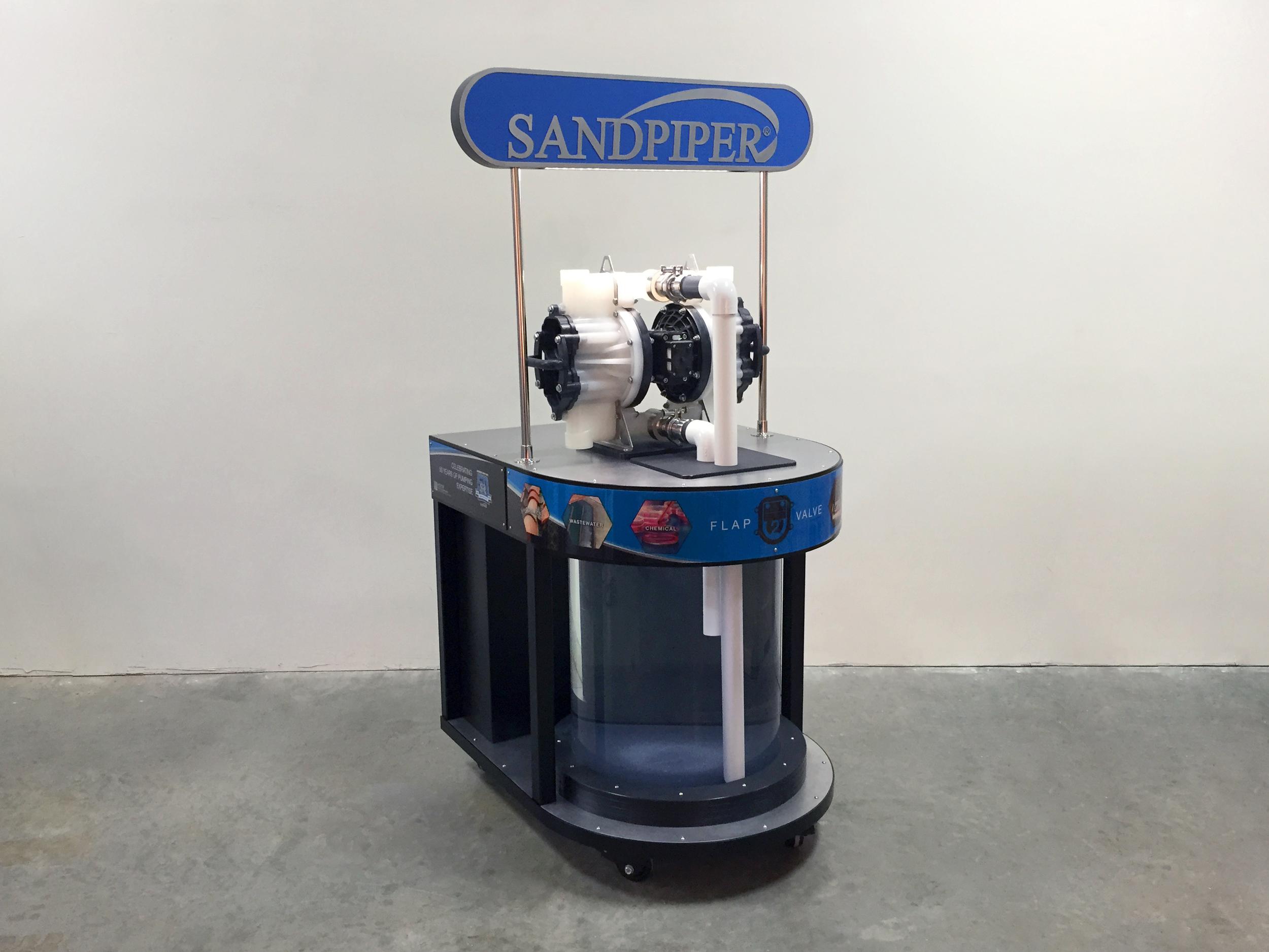 SandPiper Pump Display