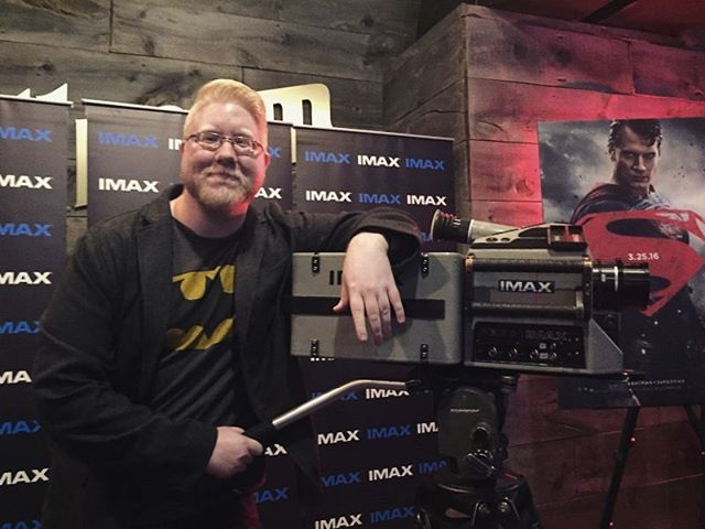 The #IMAXVIP experience seeing #batmanvsuperman last night was great! Got to see the @IMAX camera used on the film. My thoughts on the film? I have a Spoiler Free review on my YouTube channel :) (📷 by: @mrecock)