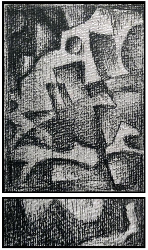 Sketch 1 (Monoptych/Predella series)