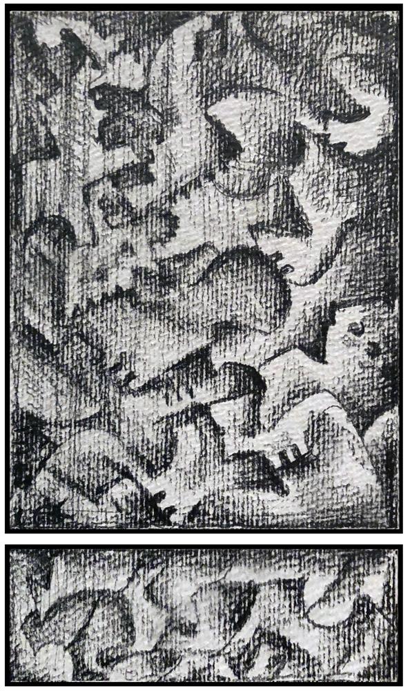 Sketch 3 (Monoptych/Predella series)