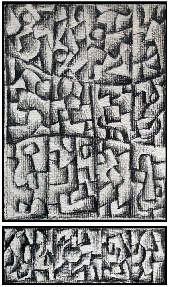 Sketch 4 (Monoptych/Predella series)