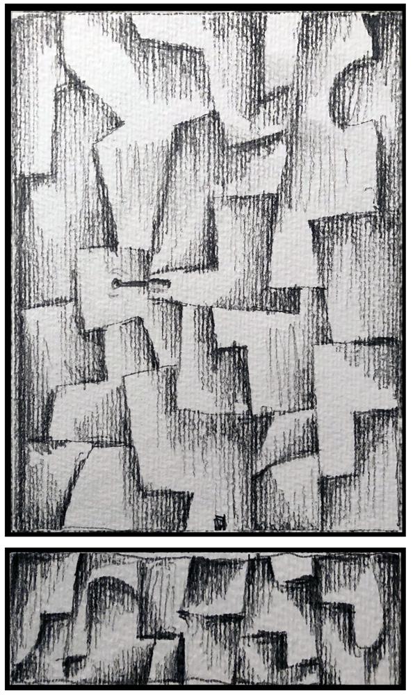 Sketch 7 (Monoptych/Predella series)