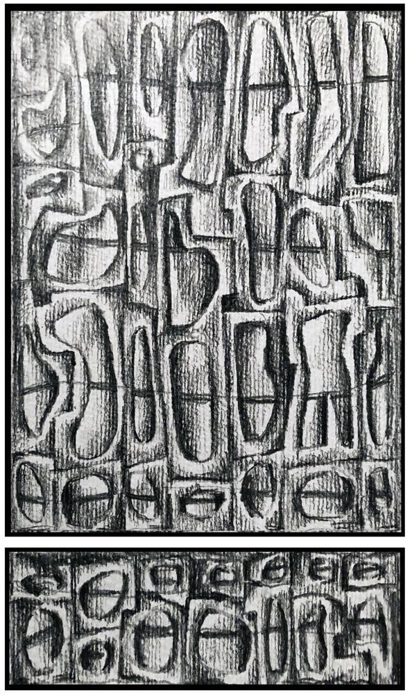 Sketch 8 (Monoptych/Predella series)