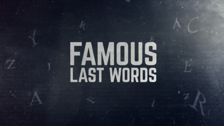 Famous Last Words - Anona Nights