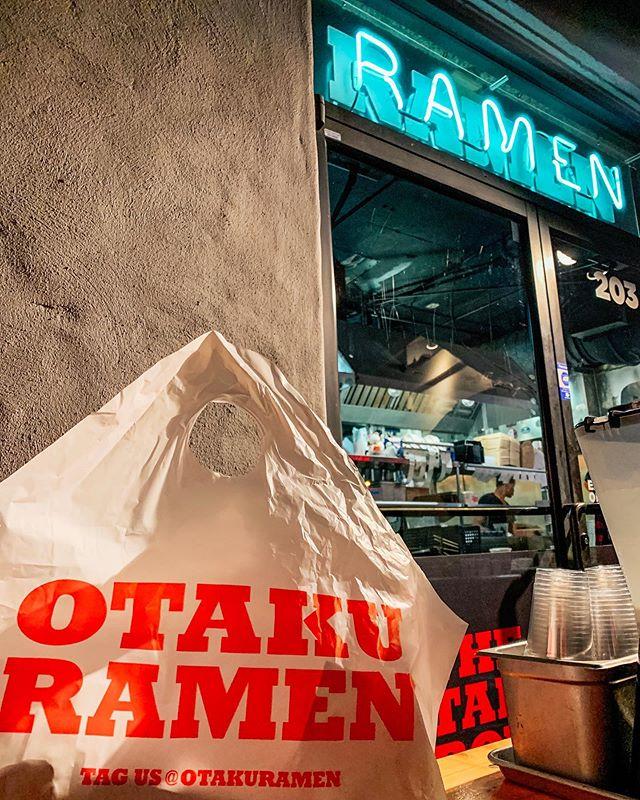 @otakuramen dinner for @staywhatdreware 's visit. 🍜