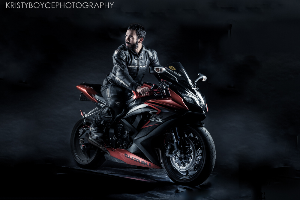 Suzuki GSX motorcycle by Kristy Boyce