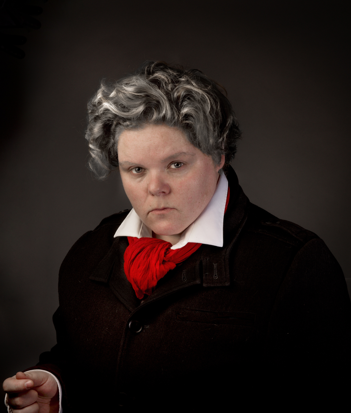 Self Portrait as Beethoven. Part of Queering the Renaissance Photo Series