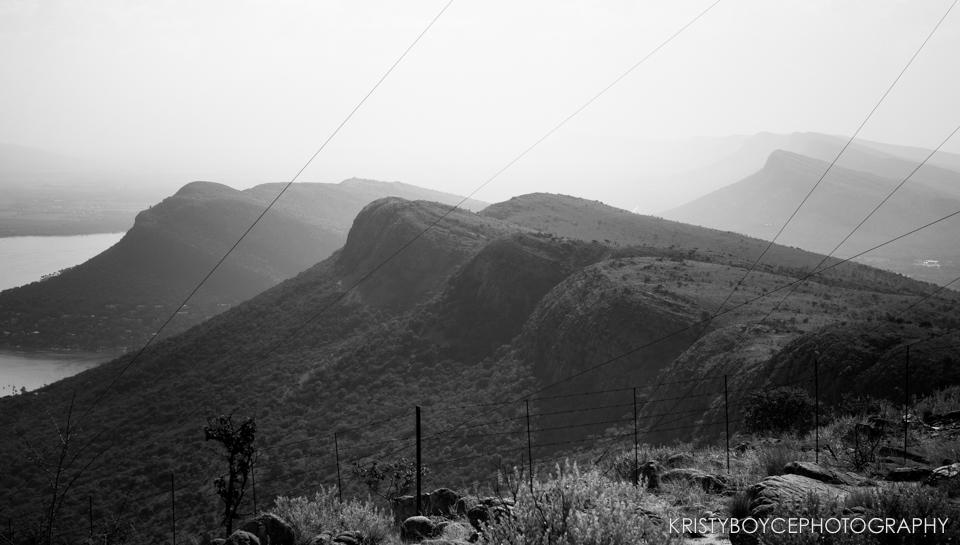 Outside of Johannesburg, South Africa.