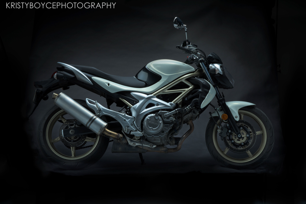 Commercial Motorcycle Shoot