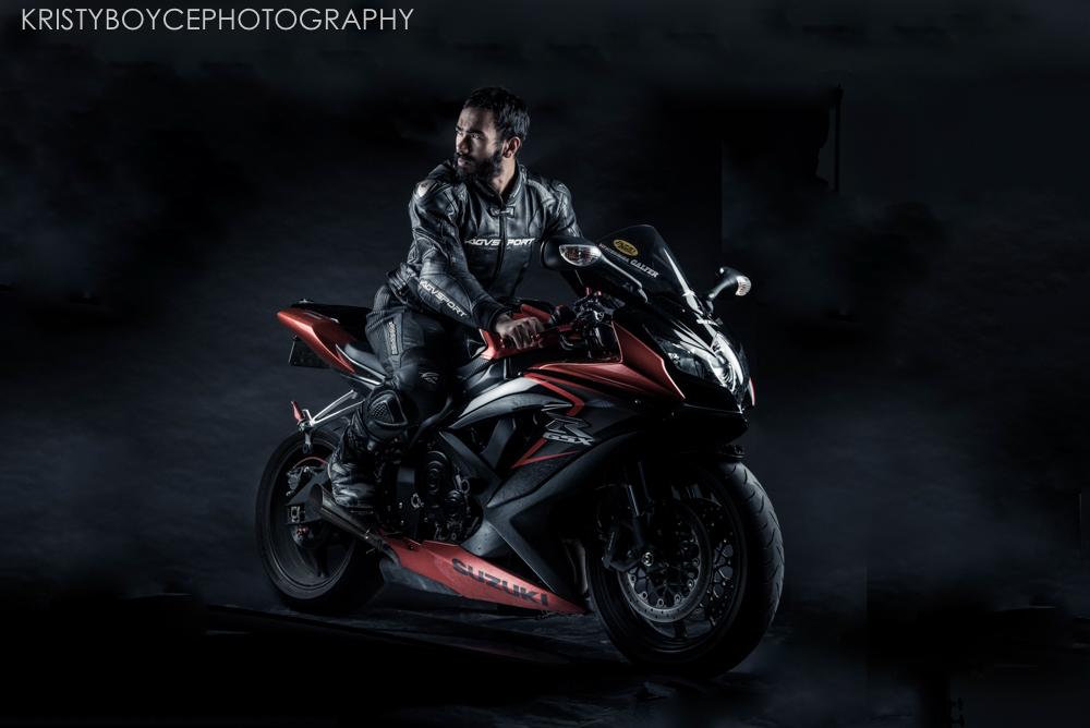 Commercial Motorcycle Shoot, Suzuki