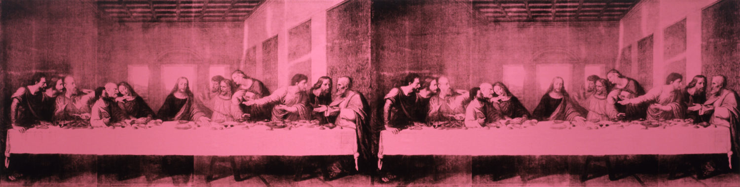 Andy Warhol,  The Last Supper , 1986, The Andy Warhol Museum, Pittsburgh, © The Andy Warhol Foundation for the Visual Arts, Inc.