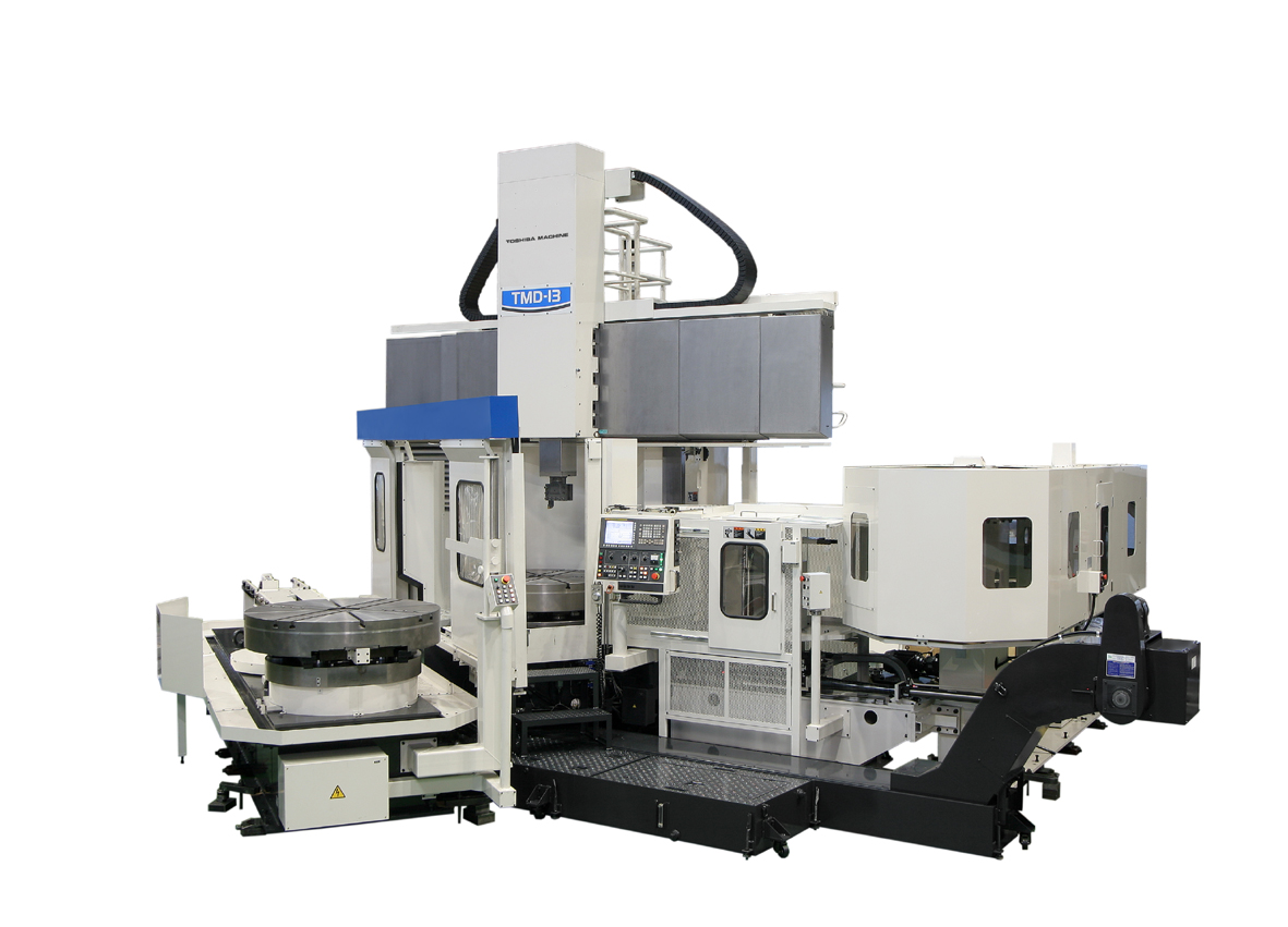 Vertical lathe with pallet changer