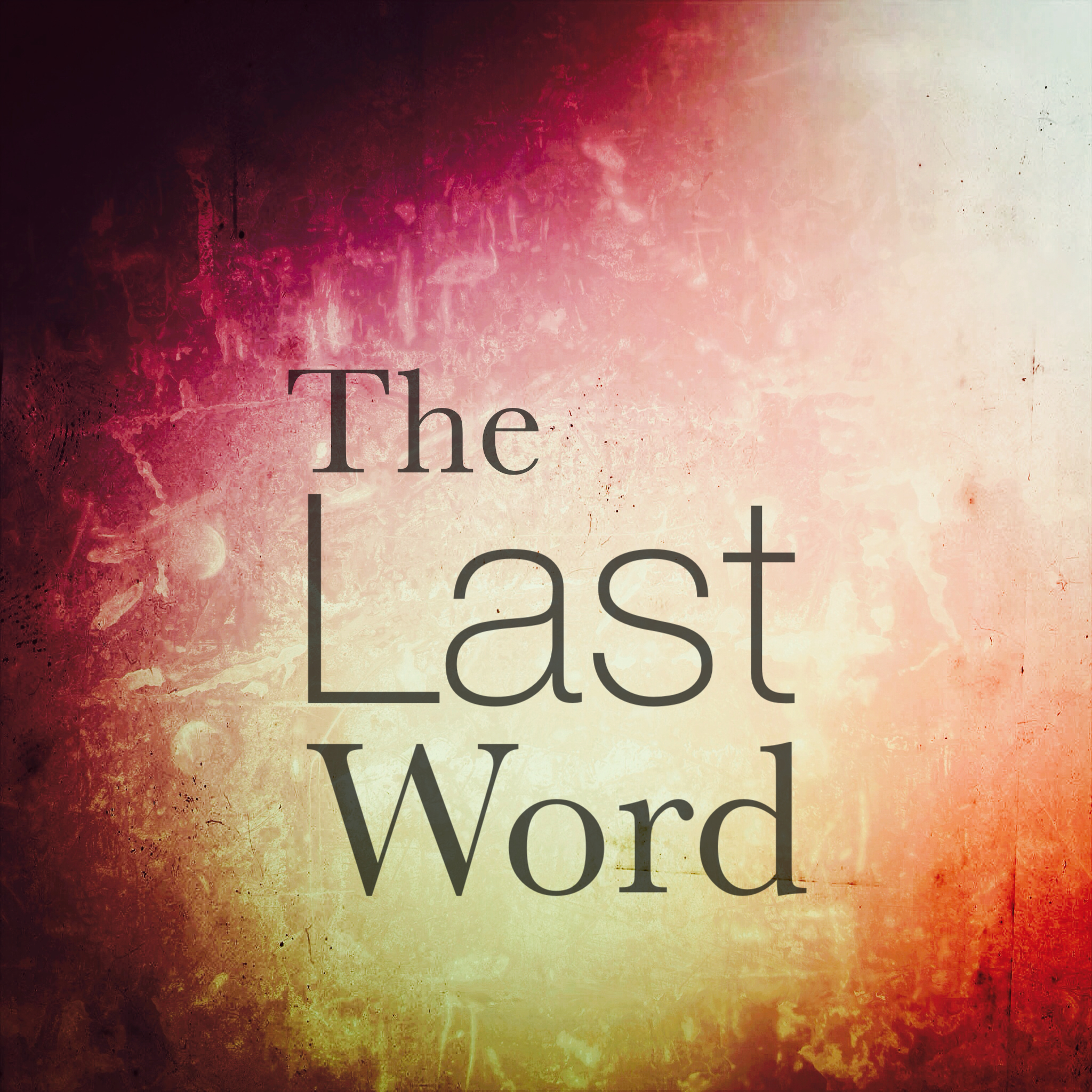 The Last Word over Suffering is Coming... http://www.chereehayes.com/blog/2014/9/15/the-last-word