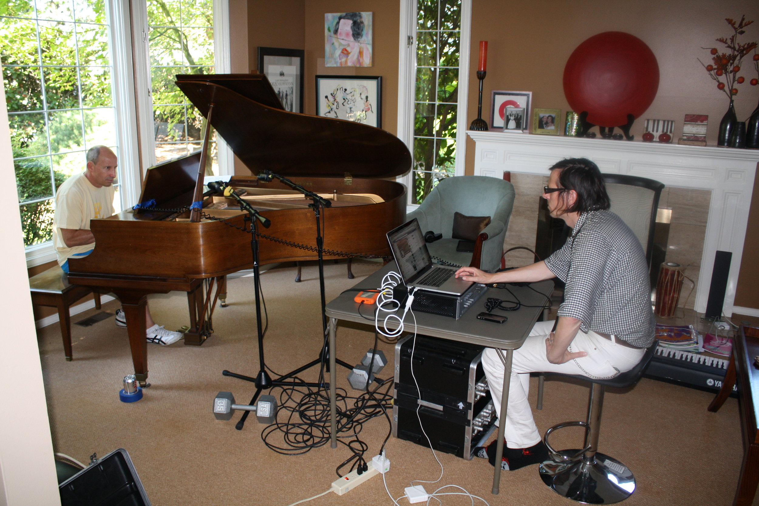 DAY 1: Ken and Mike Tracking at Mike's house