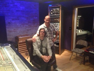 """Mike and Ken after a first listen to the Release Candidate of """"The One That Matters"""""""