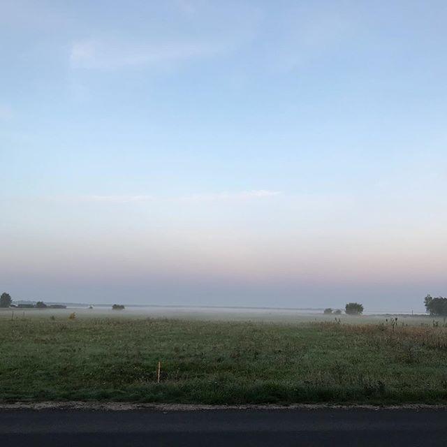 Magisk morgon här nere i Höllviken.
