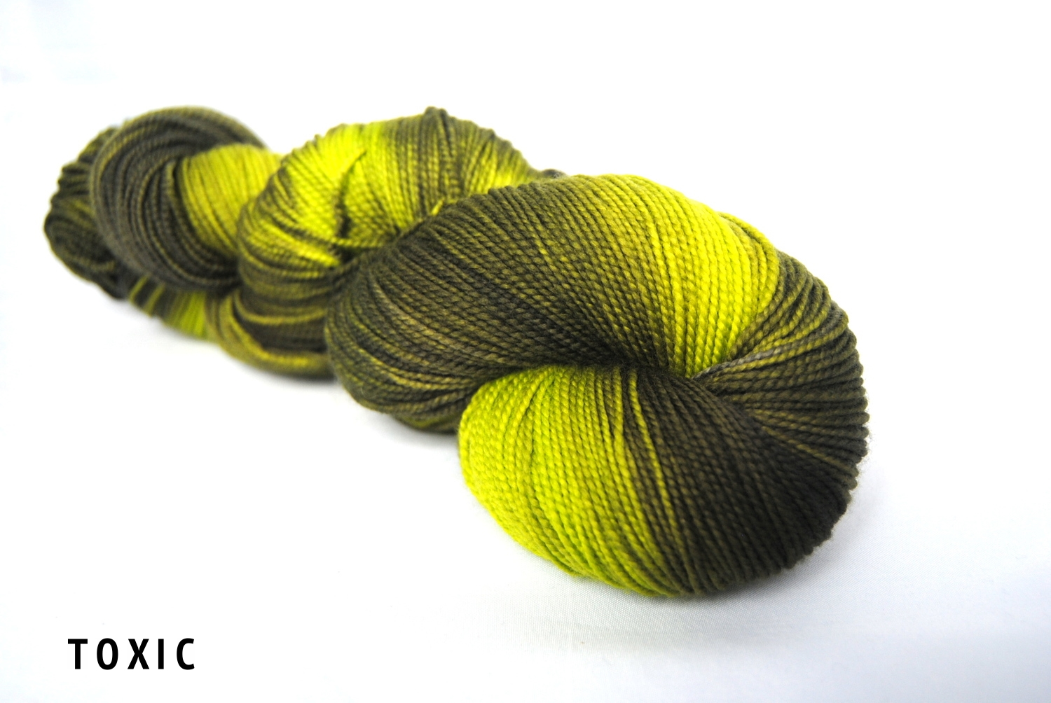 TOXIC on superwash merino fingering.jpg