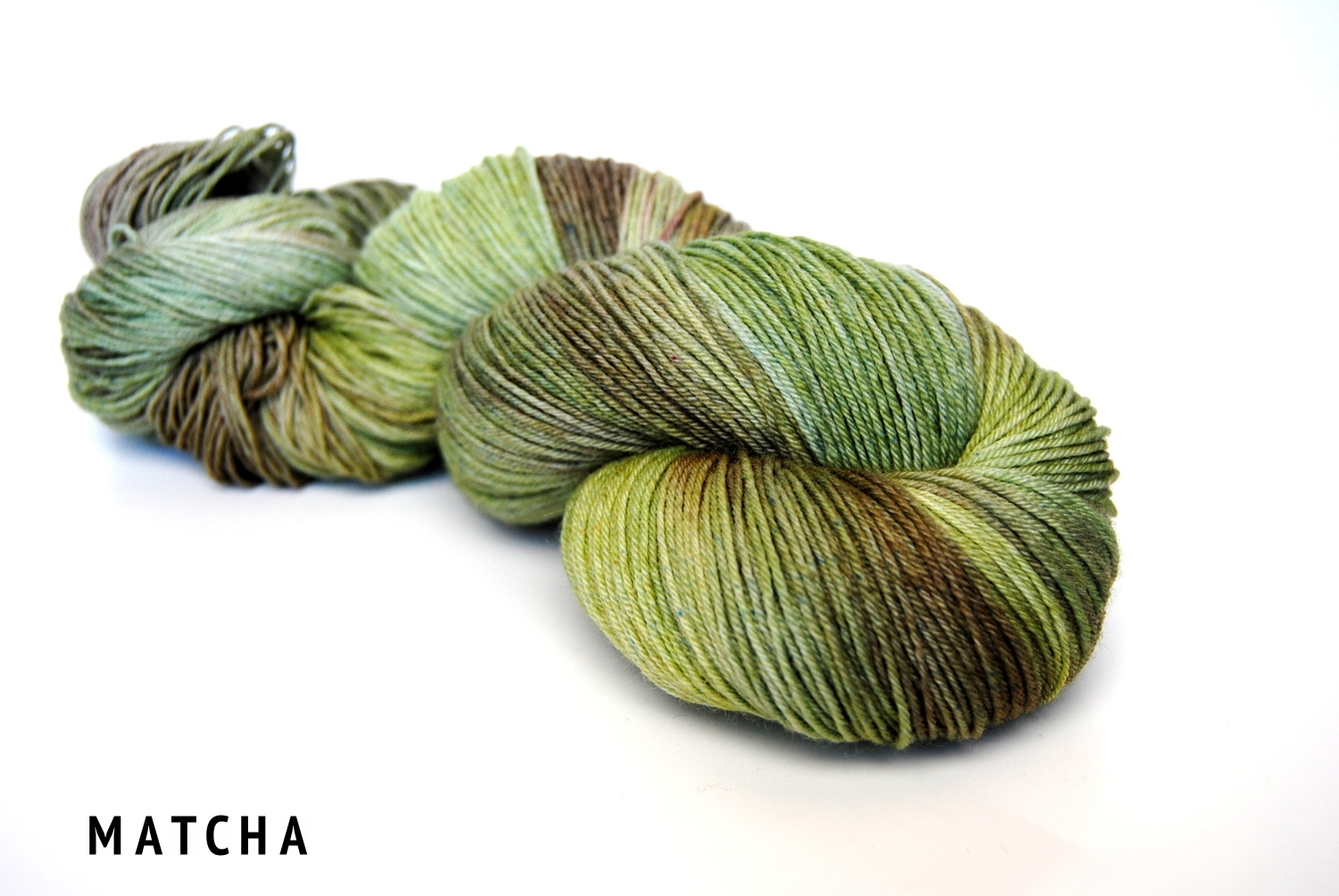 MATCHA on superwash bfl fingering.jpg