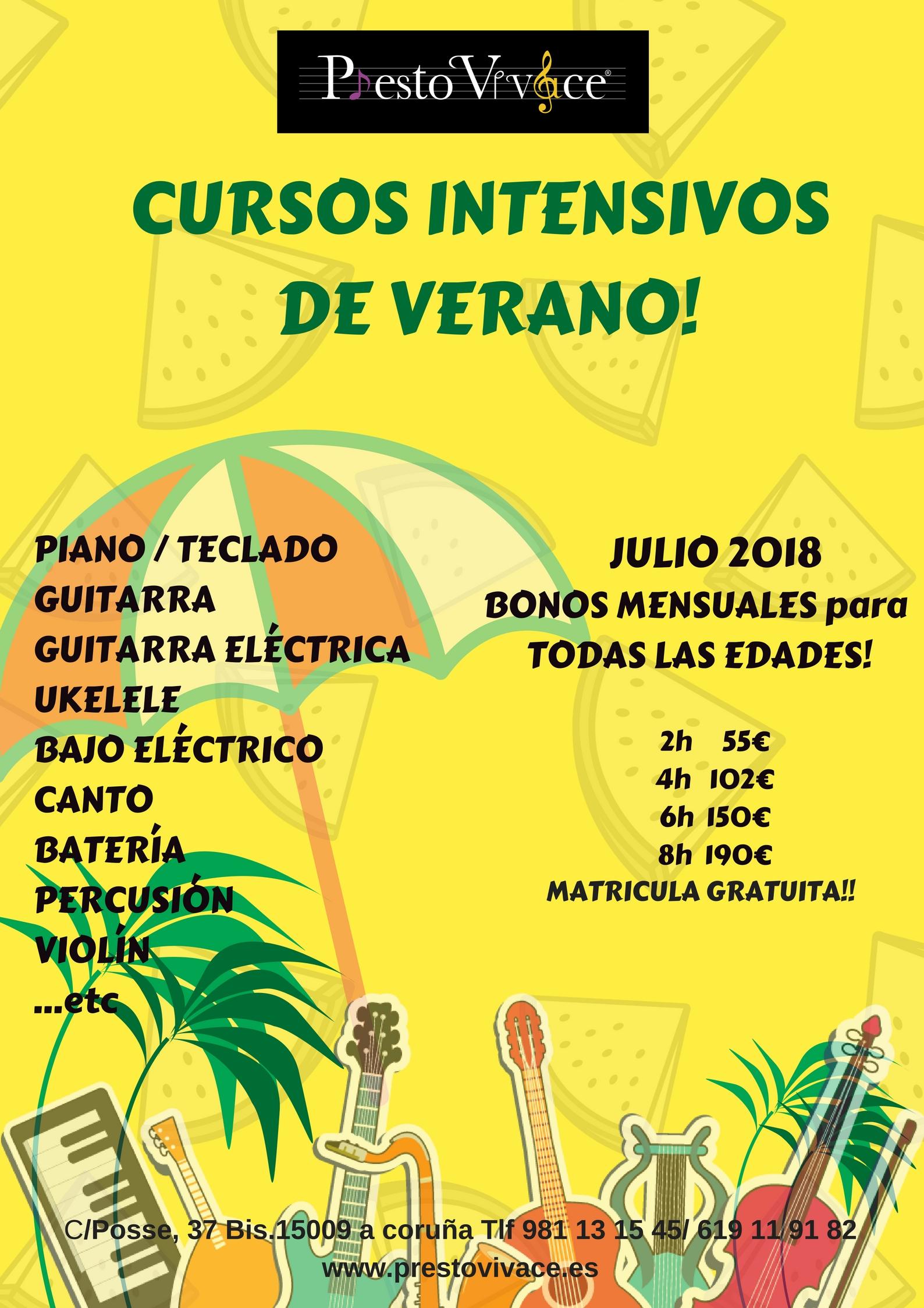 C/ Posse ,37 Bis. 15009 a Coruña www.prestovivace.es