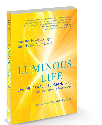 Written by Jacob Israel Liberman OD Phd with Gina Liberman & Erik Liberman - Jacob Israel Liberman is a pioneer in the fields of light, vision and consciousness.